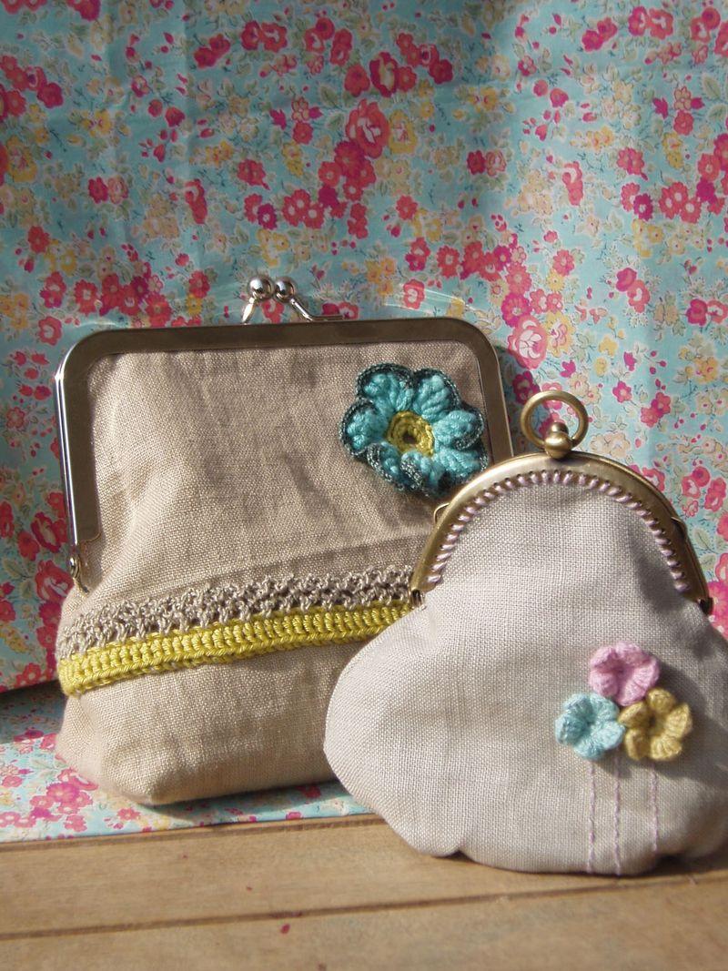 Linen purses