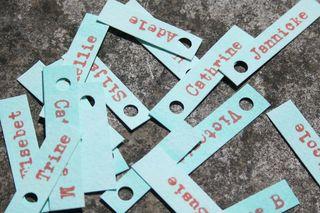 Name tags 1