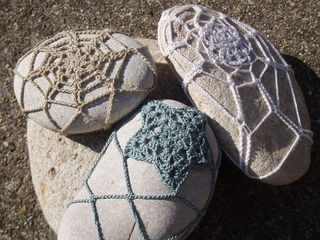 Crochet paperweight