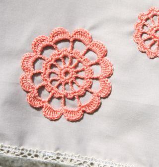 Orange motif detail