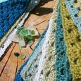 Sea glass & bunting