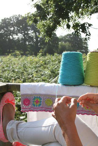 Balcony crochet